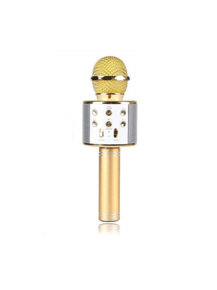 Беспроводной Bluetooth караоке микрофон HIFI W..