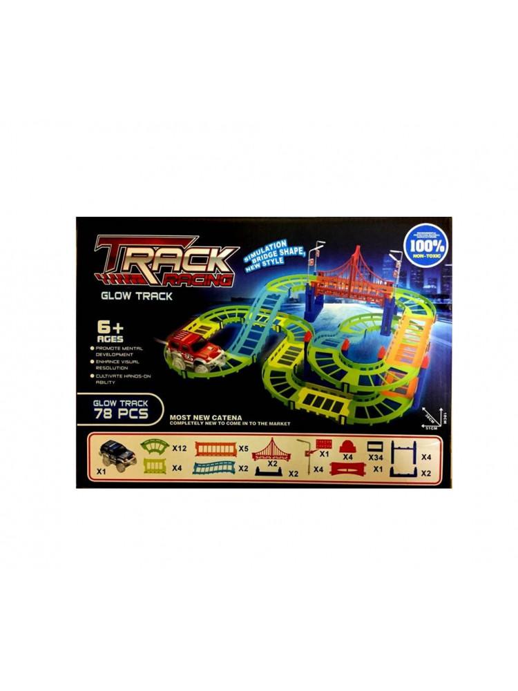 Трасса Track Racing (Трек Рейсинг) 78 деталей..