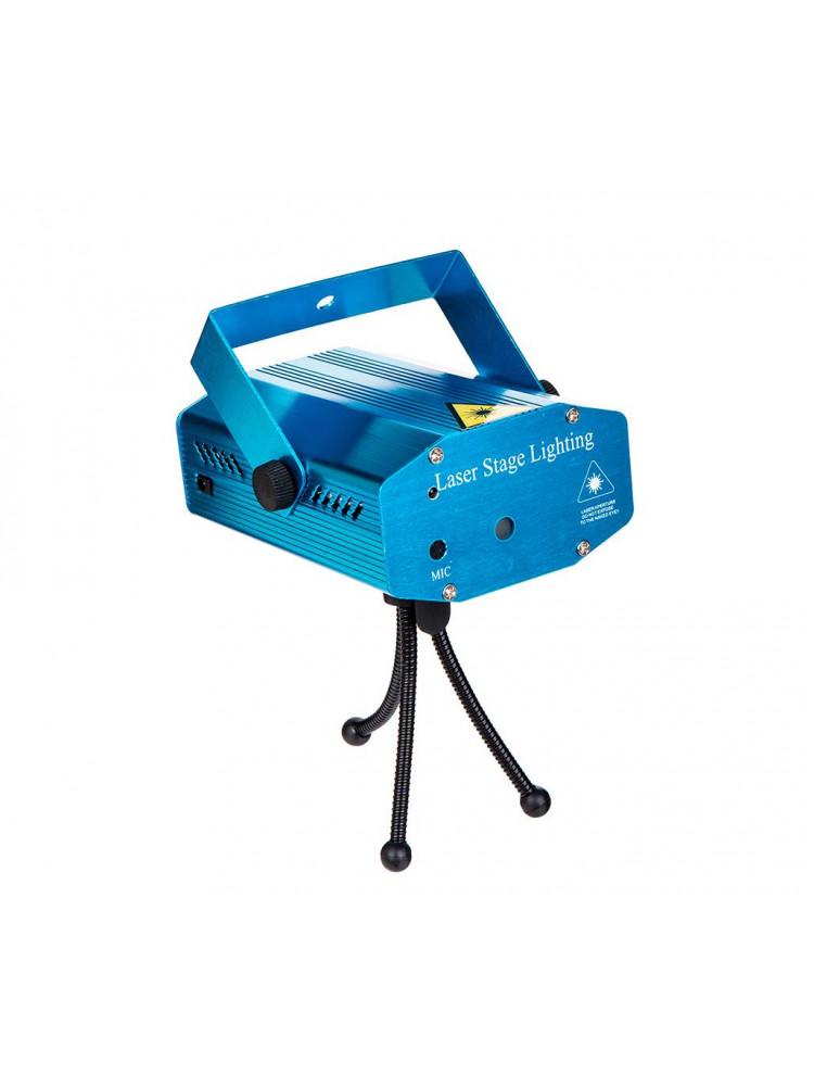 Лазерный проектор Mini Laser Stage Lightning..