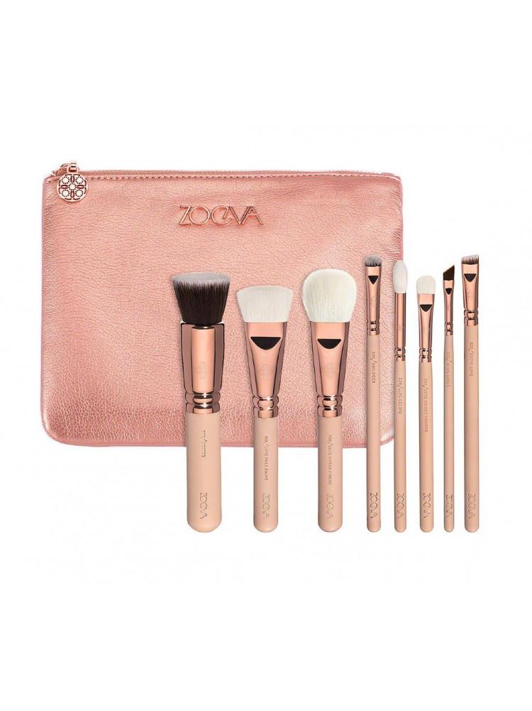 Кисти ZOEVA Makeup Rose Golden Luxury Set VOL ..