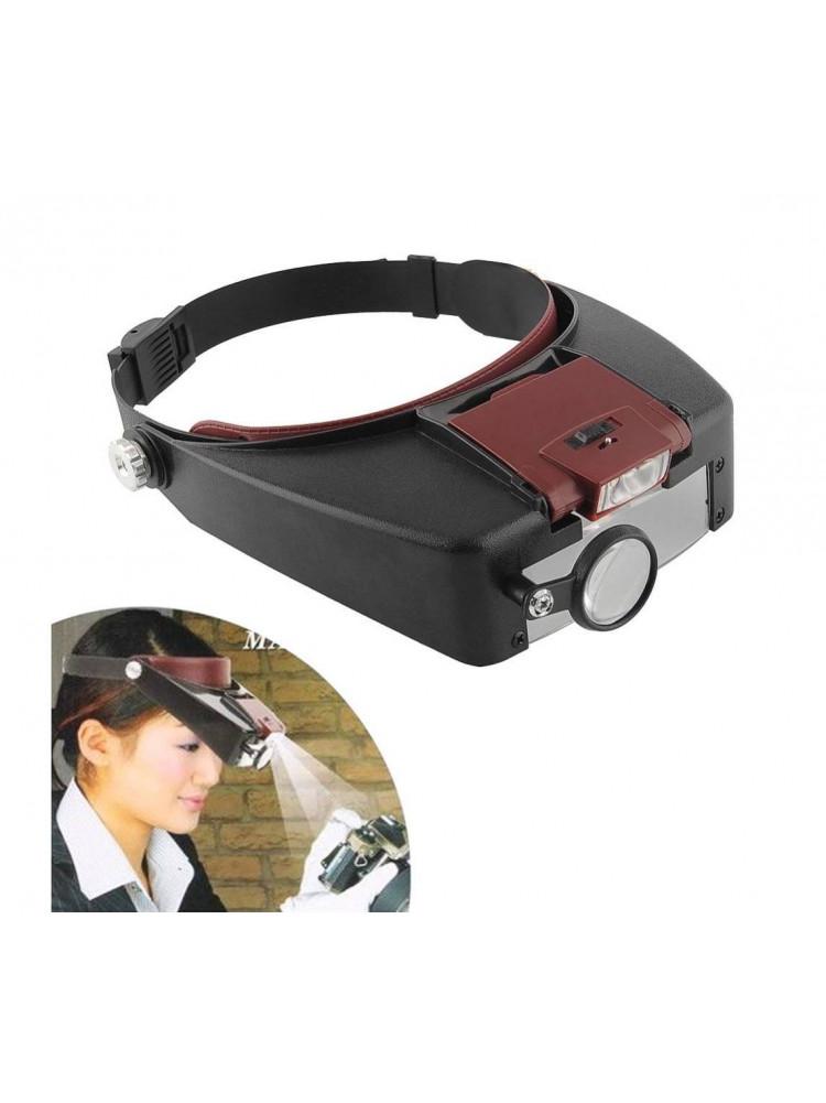 Бинокулярные очки Light Head Magnifying Glass ..