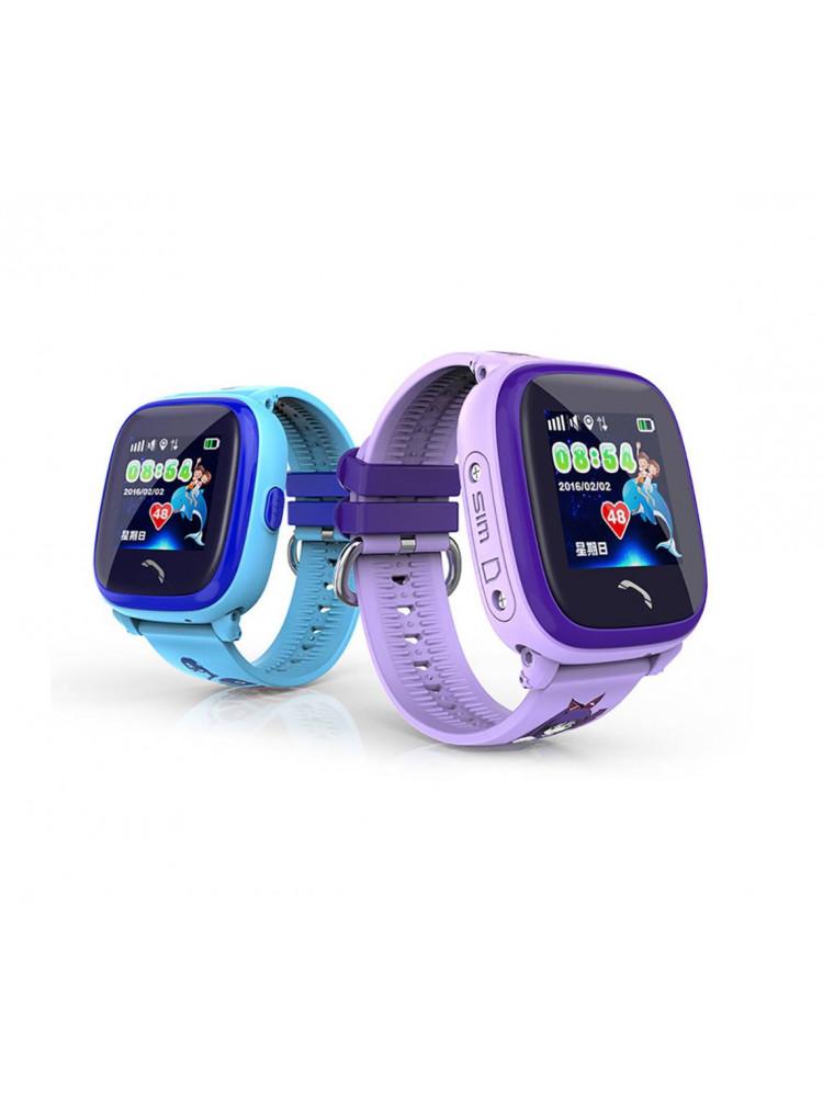Детские часы Smart Baby Watch DF25G голубые IP..