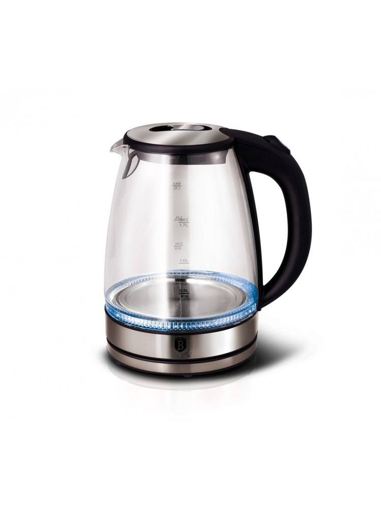 Электро-чайник 1.7 литра Berlinger Haus стекля..