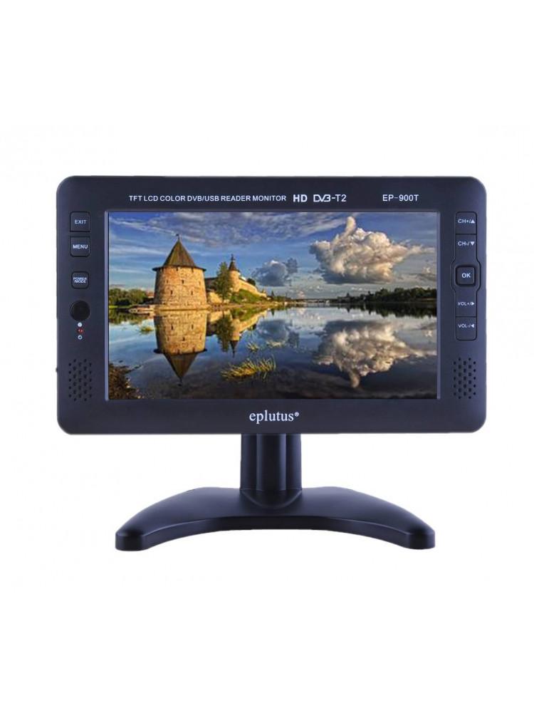 Автомобильный портативный телевизор с DVB-T2 E..