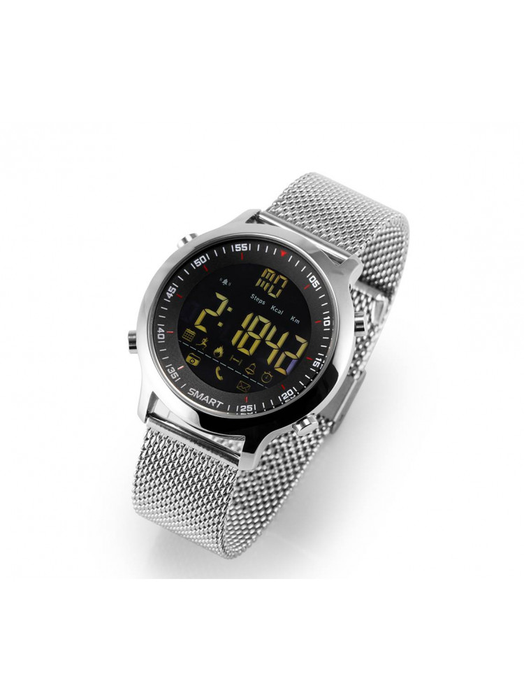 Электронные часы Sports Smart Watch (металличе..