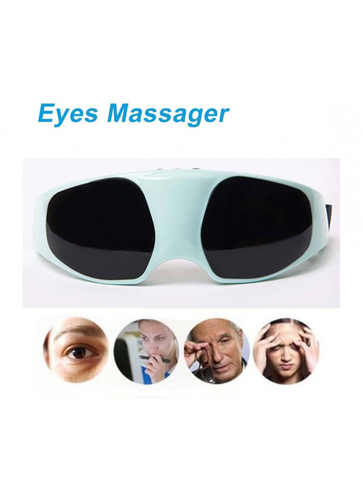 Массажер для глаз, очки-тренажер Fitstudio..