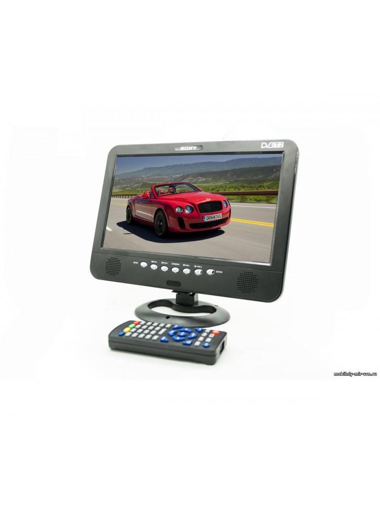 Автомобильный портативный телевизор с DVB-T2 1..