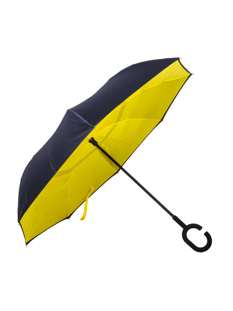 Зонт наоборот (Желтый) UPBRELLA..