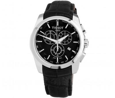 Кварцевые часы Tissot 1853 Couturier Chronograph T-Classic (все рабочие циферблаты )