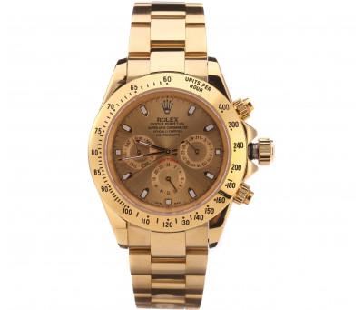 Часы механические Rolex Daytona(золотой)