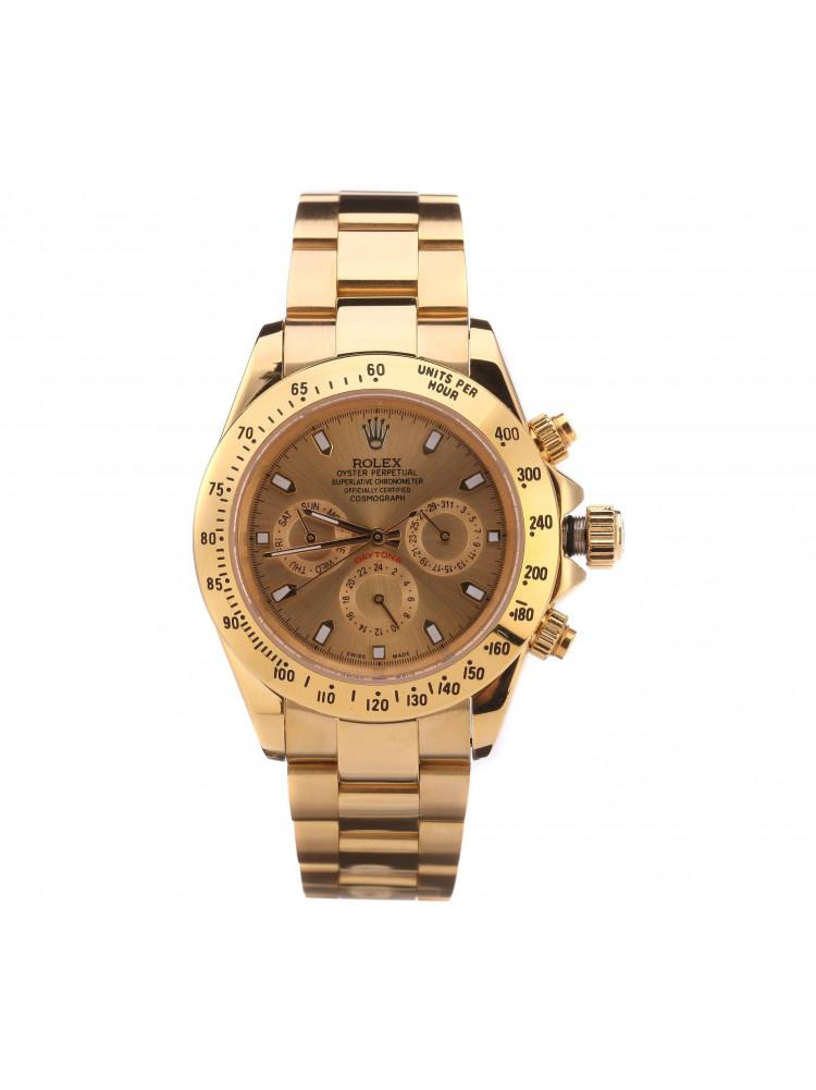 Часы механические Rolex Daytona(золотой)..