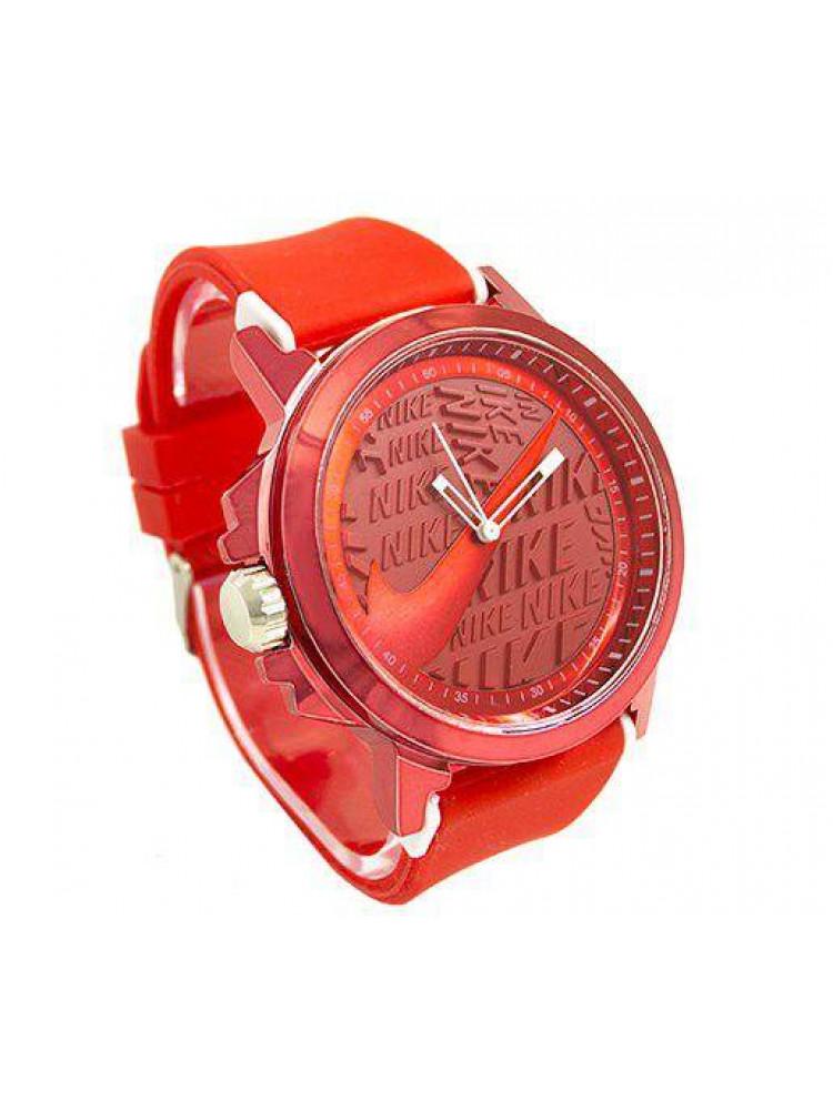Наручные женские часы Nike красные..
