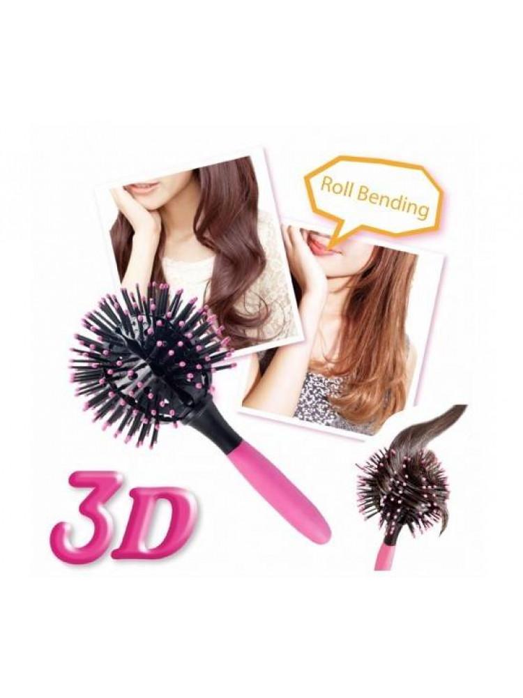 Расчёска 3d bomb curl brush для укладки..