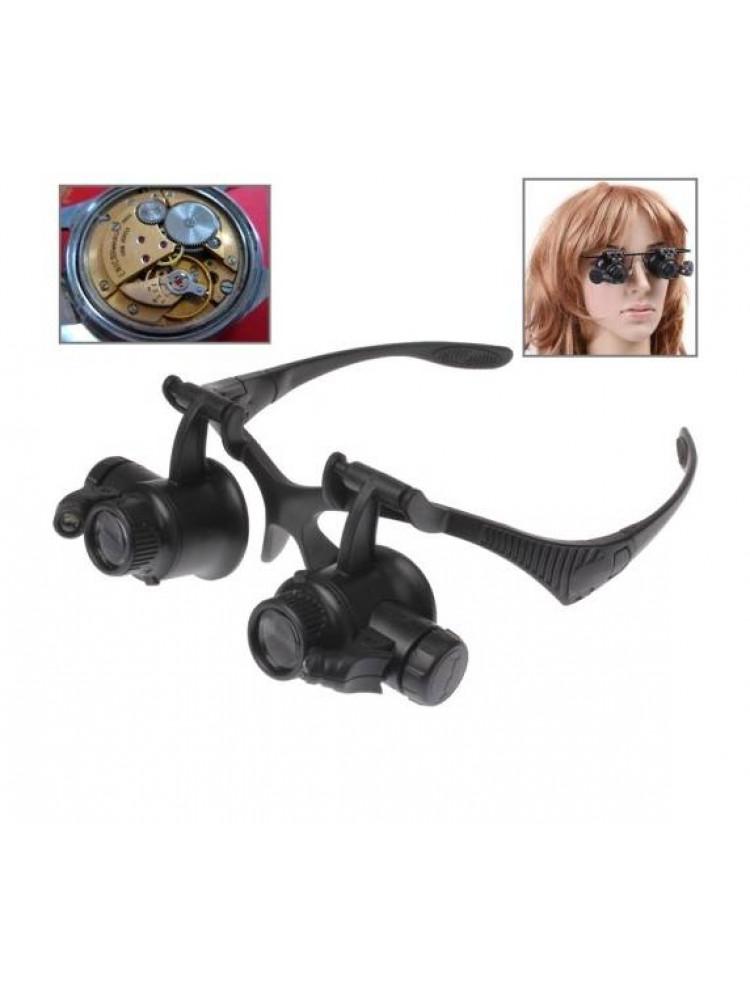 Лупа очки для мелкого ремонта Watch Repair Mag..