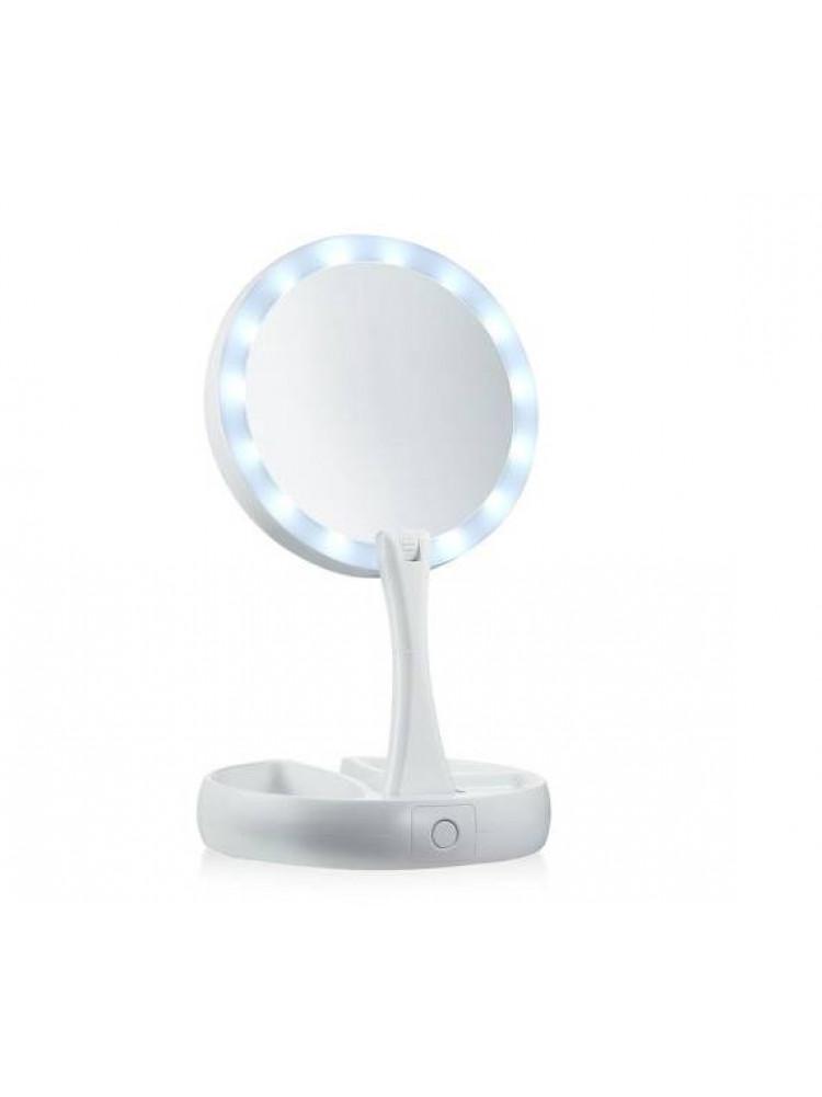 Косметическое настольное зеркало с подсветкой ..