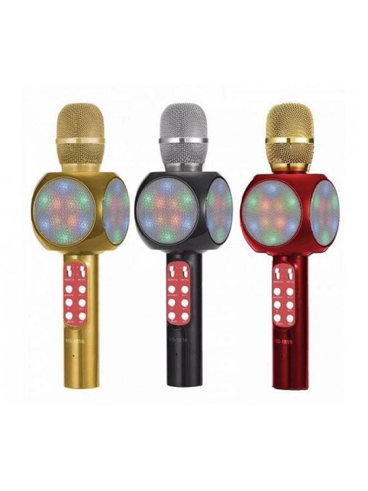 Беспроводной Bluetooth караоке микрофон Wster ..