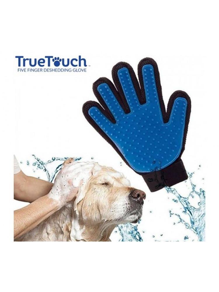 Перчатка для вычесывания домашних животных Tru..
