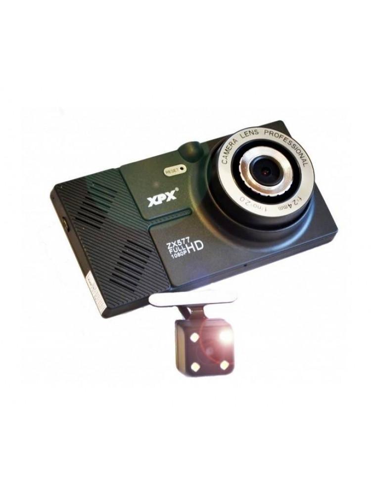 Видеорегистратор с навигатором XPX ZX577 с кам..