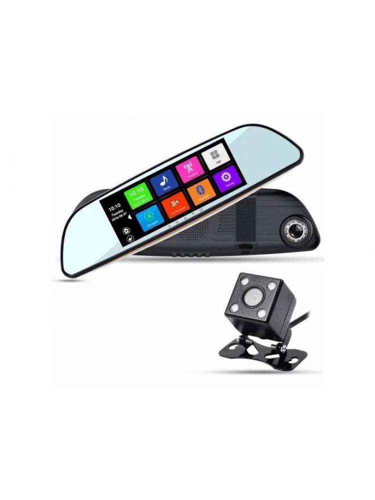 Автомобильный видеорегистратор - зеркало 2-x ĸ..