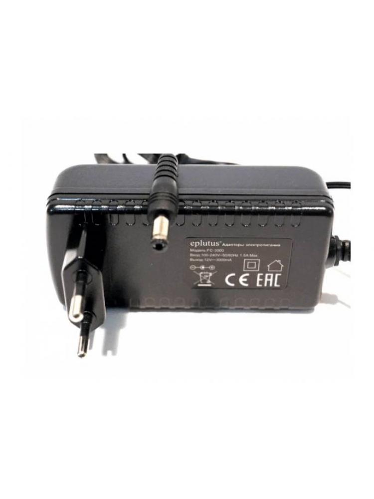 Блок питания 12 В, 3000 мА Eplutus FC-3000..