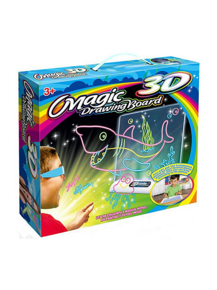 3D планшет для детей Magic Drawing Board (Акул..