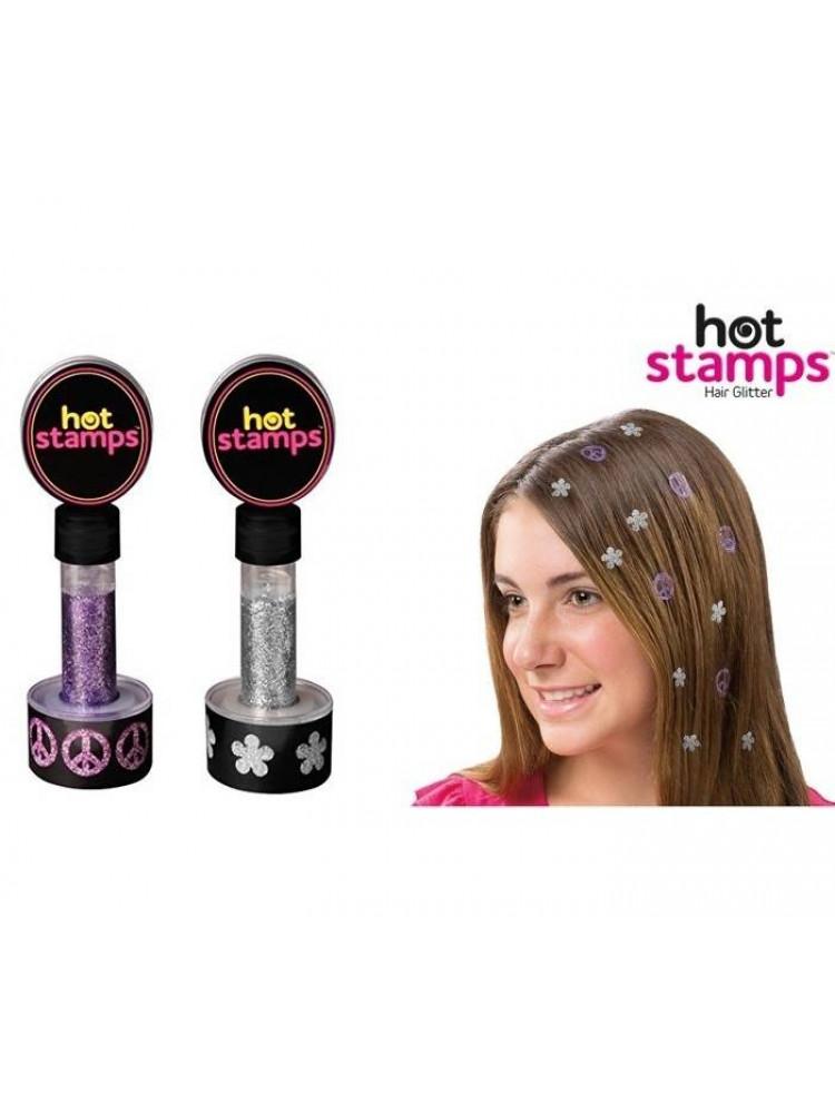 Краска-блеск для волос HOT STAMPS..
