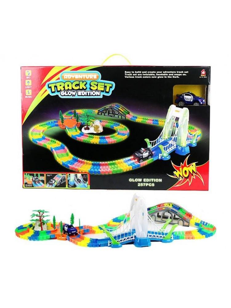 Гоночная трасса Трек Set Glow Edition (257 дет..