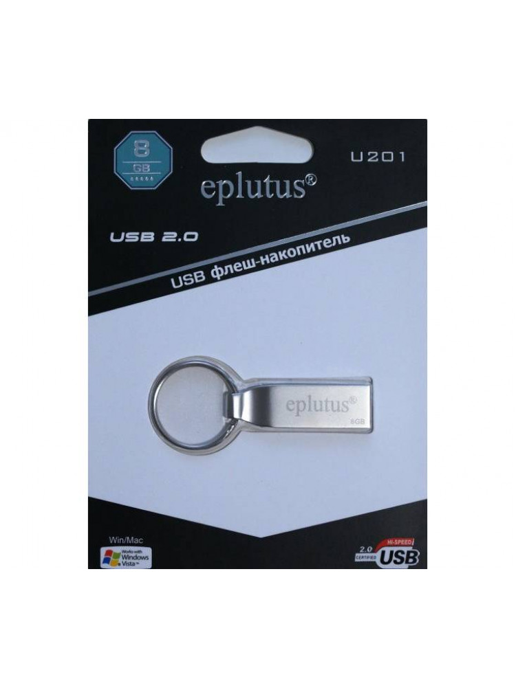 USB накопитель 8GB 2.0 Eplutus U201..