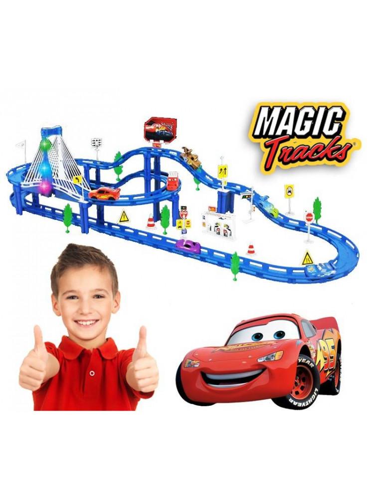 Трасса Magic Tracks Тачки 96 деталей..