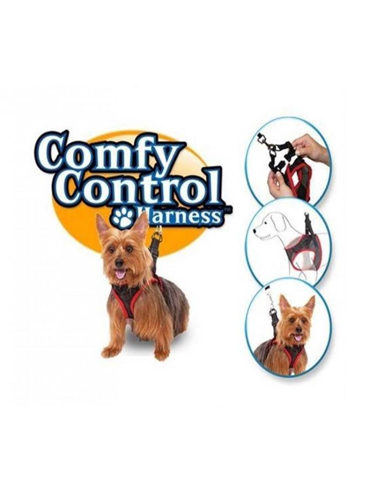 Поводок-шлейка для собак comfy control harness..