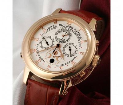 Часы Patek Philippe Sky Moon Tourbillon (копия - кварцевые ) мн351