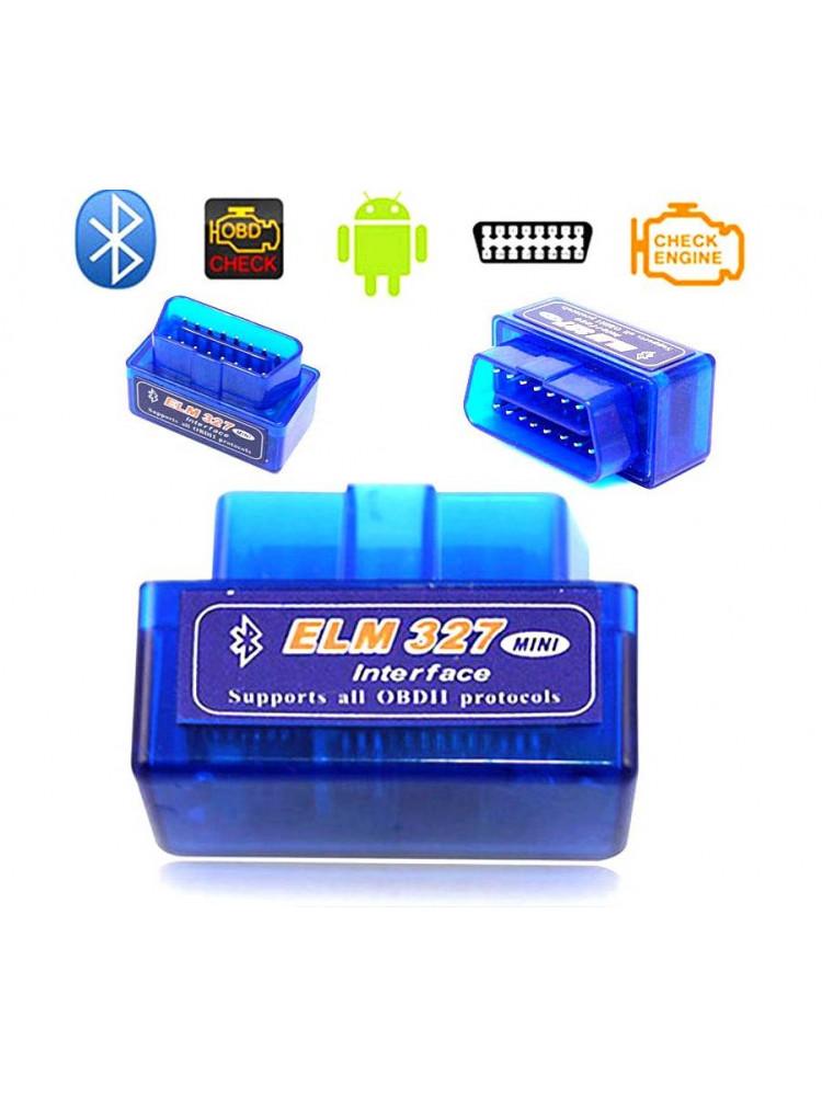 Автосканер Bluetooth Elm 327 Obd2 Mini 2,1..