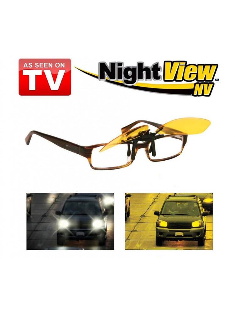 Антибликовые очки для водителей NIGHT VIEW CLI..