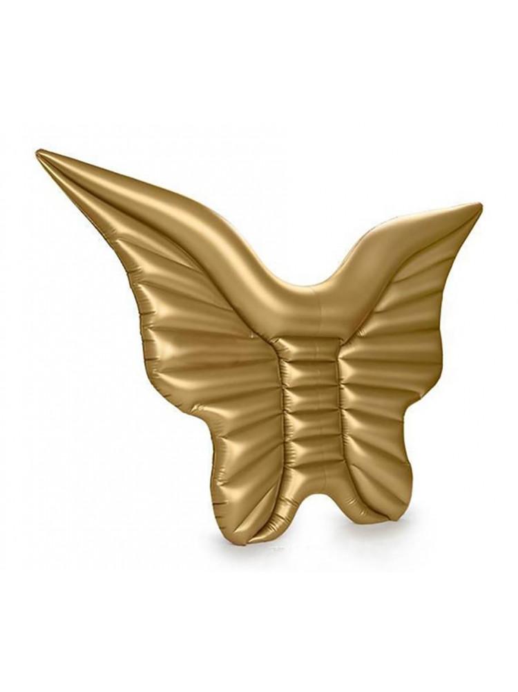 Надувной матрас золотые крылья ангела 250 см..