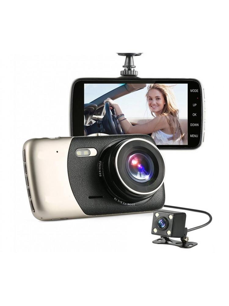 Автомобильный видеорегистратор XPX P8 2 камеры..