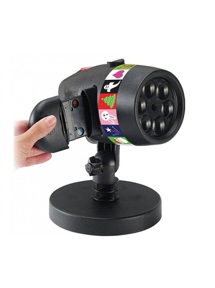 Проектор световой уличный 12 вариантов SLIDE..