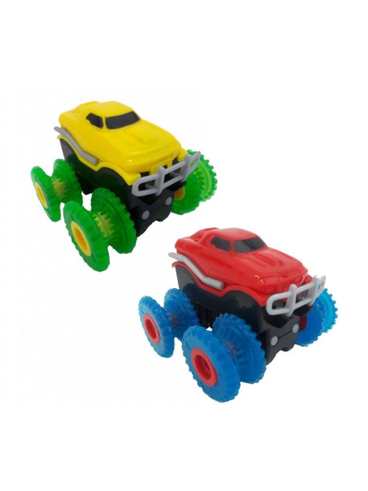 Набор 2 машинки на канатном треке Trix Trux..
