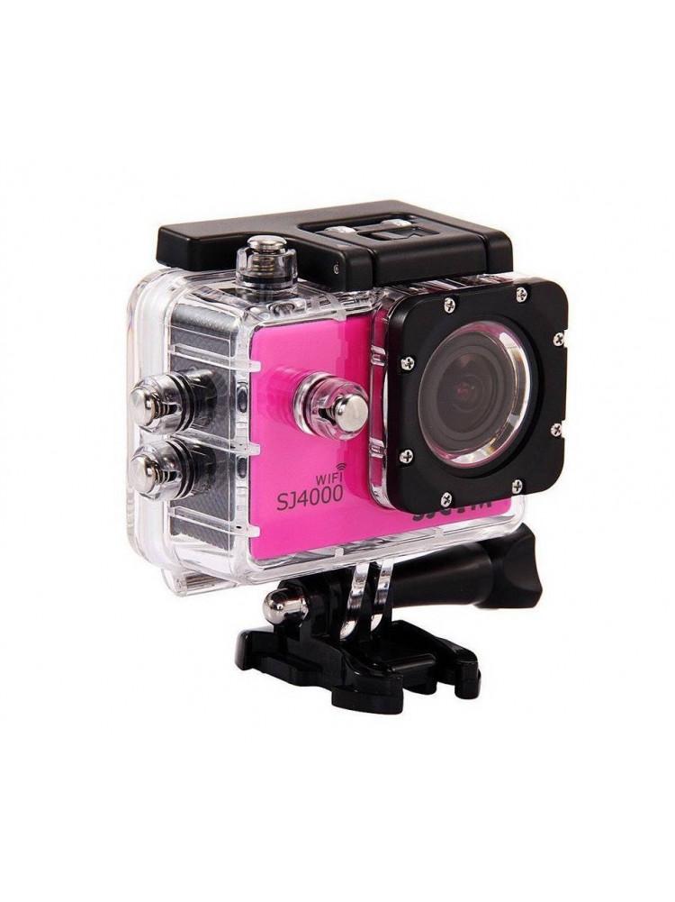 Экшн камера SJCAM SJ4000 WI FI Pink..
