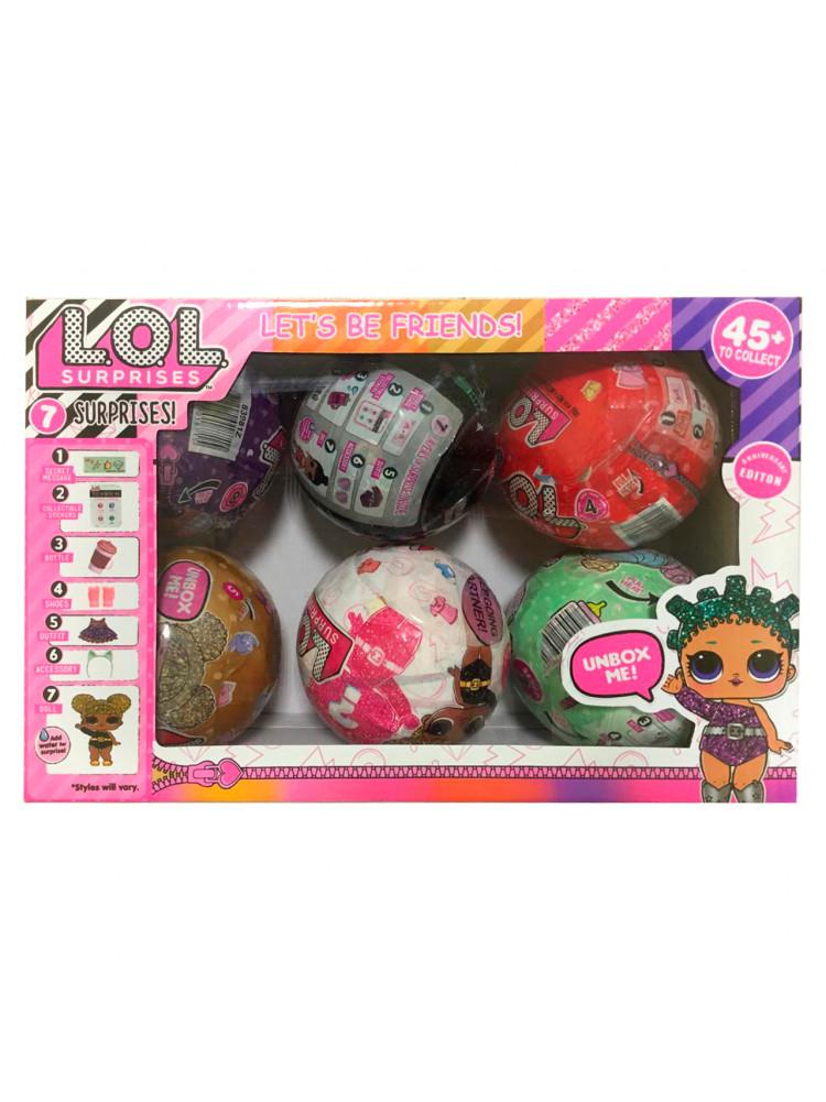 Куклы ЛОЛ 6 в 1 разные серии..