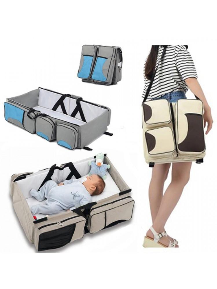 Многофункциональная детская сумка - кровать Ga..