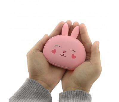 """Внешний аккумулятор Power Bank """"Любовь кролика"""" с подогревом для рук"""