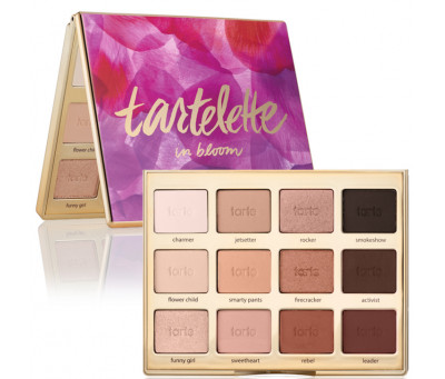 Палетка теней tartelette in bloom