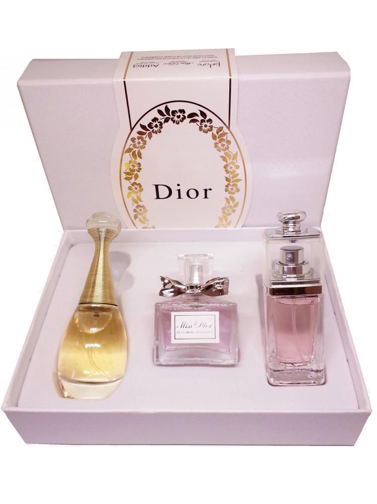 Подарочный набор Dior 3 в 1..