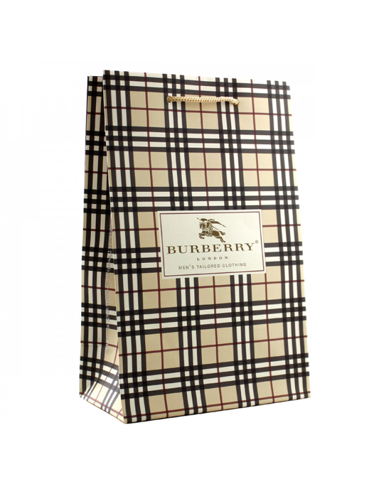 Подарочный пакет Burberry 24х15 см маленький..