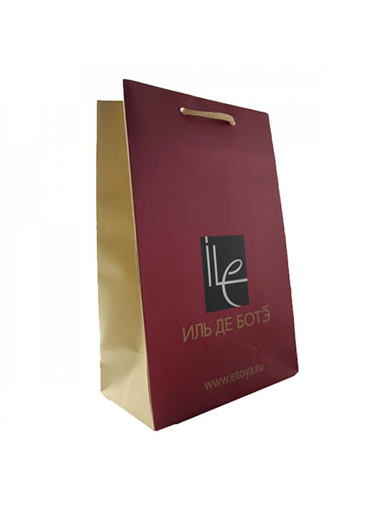 Подарочный пакет Иль де Ботэ 24х15 см маленьки..
