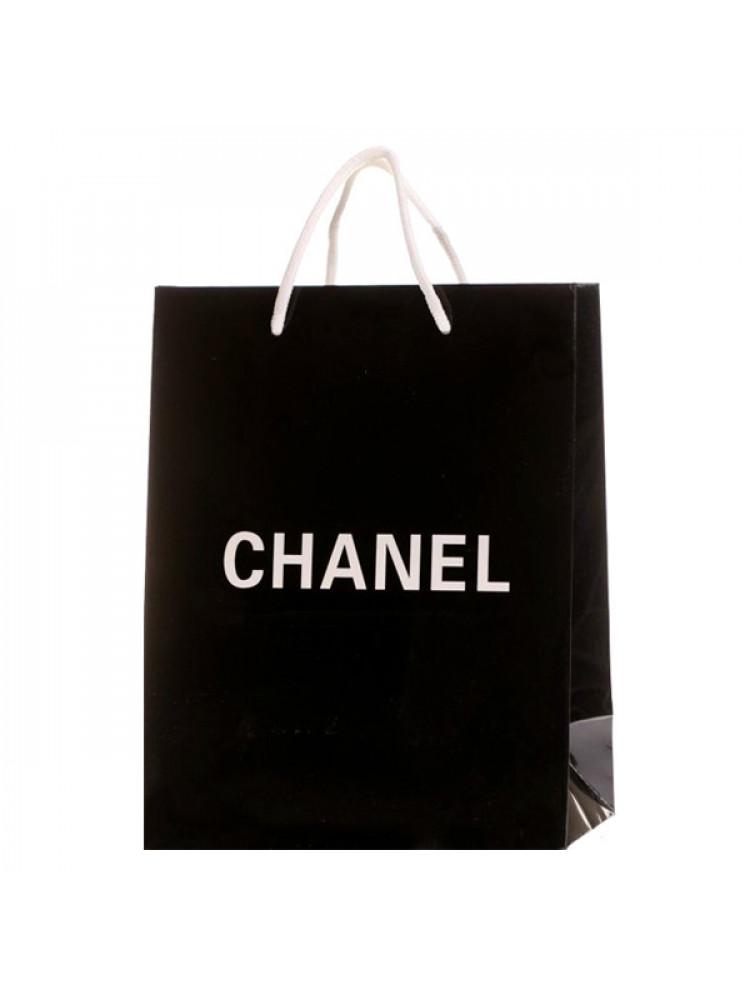Подарочный пакет Chanel 30x25 см средний..