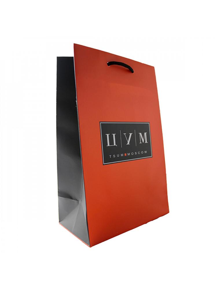 Подарочный пакет ЦУМ 34х25 см средний..