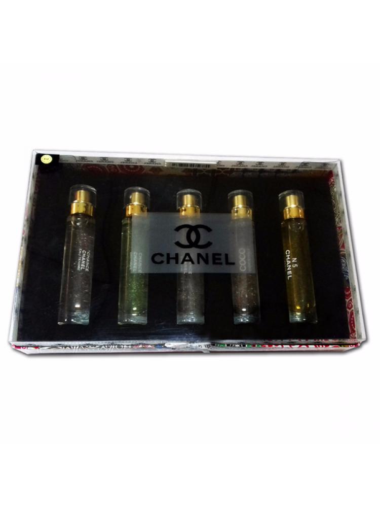 Подарочный набор Chanel For Women 5x15 ml..