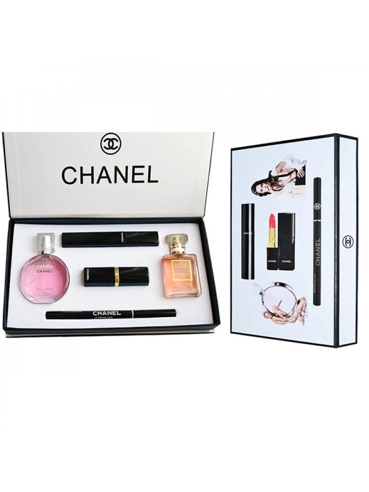 Подарочный набор Chanel 5 in 1..