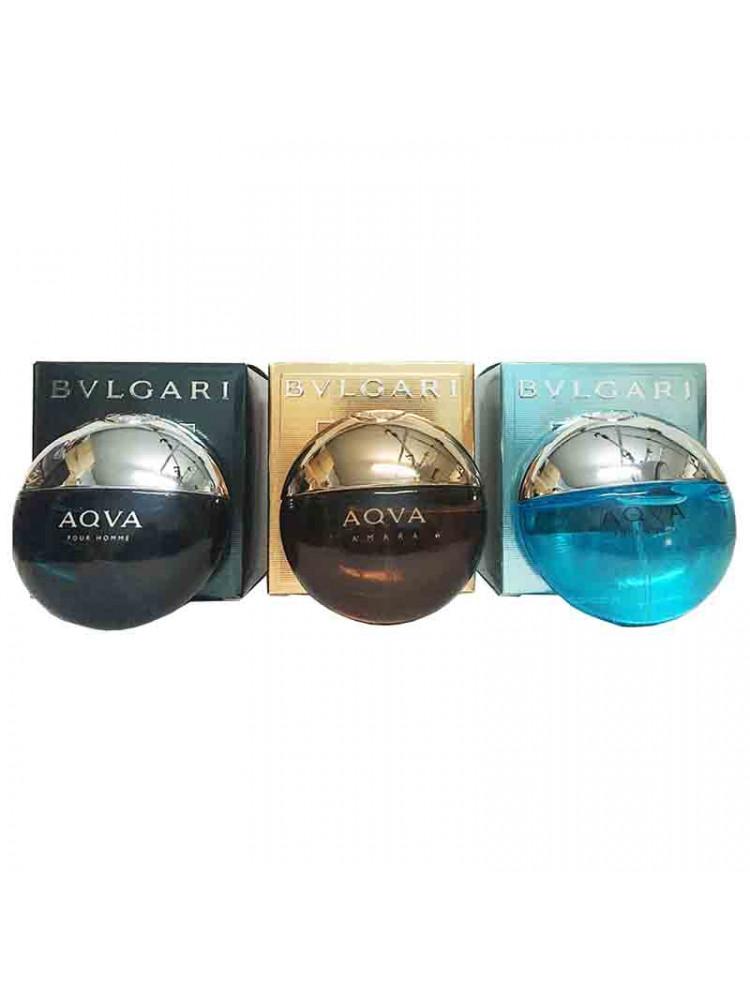 Подарочный набор Bvlgari Aqva for men 3x15 ml..